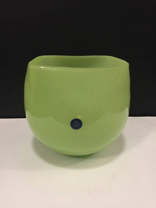 Grøn Glas skål