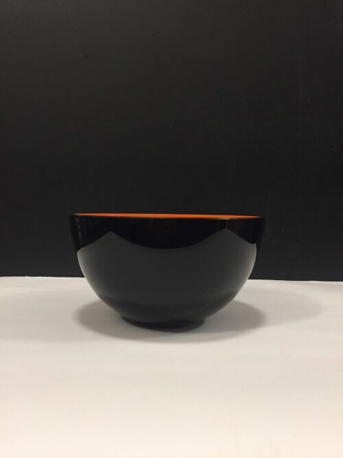 Holmegaard sort/orange